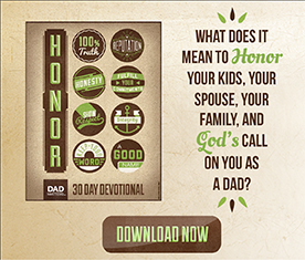 Honor: a 30 day devotional for dads